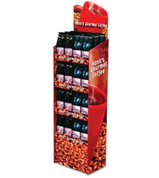 Economic Point Of Sale Coffee Display