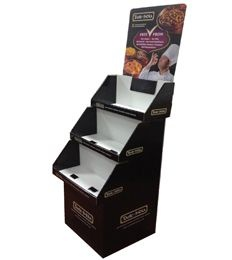 shelf floor display stands